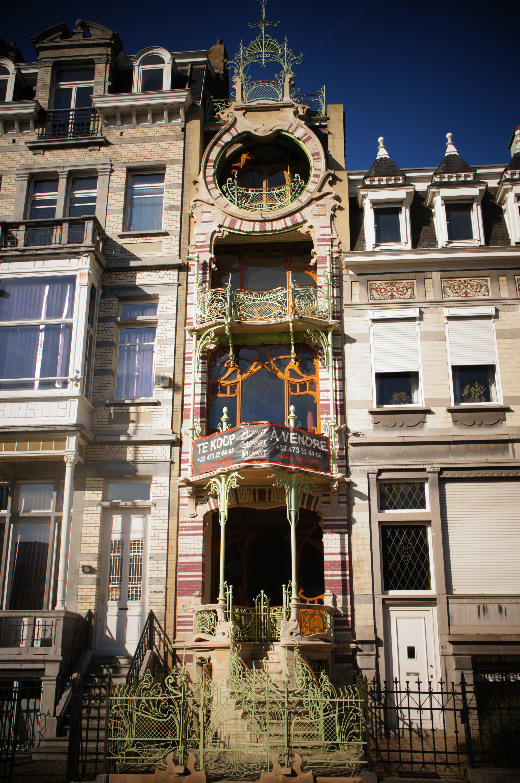 Bruxelles enviedefollesdecouvertes - Maison de l art nouveau ...